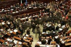 <p>Aula della Camera dei Deputati in un'immagine d'archivio. REUTERS/Max Rossi</p>