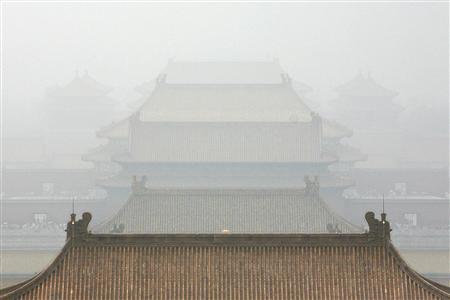 Beijing shrouded in haze 11 days before Olympics - Reuters