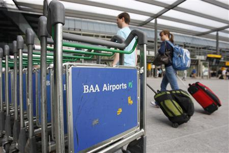 BAA must sell 3 airports - Reuters