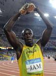 <p>Usain Bolt REUTERS/Kai Pfaffenbach</p>