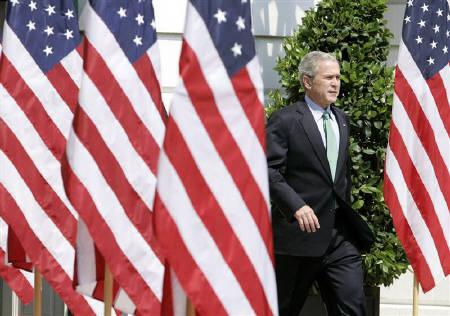 president george bush orders attack on iraq