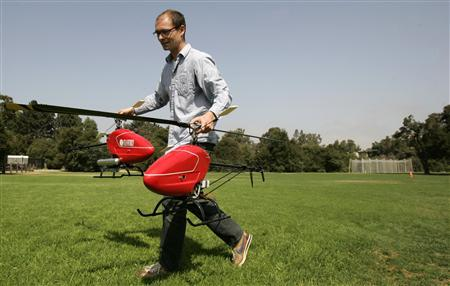 Self-flying helicopter gets off ground - Reuters