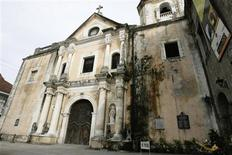 <p>A view of the San Agustin Church, one of the four baroque churches in the Philippines, inside Intramuros, Manila August 21, 2008. REUTERS/John Javellana</p>