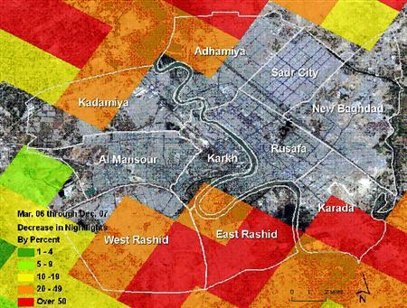 Satellite images show ethnic cleanout in Iraq | Reuters