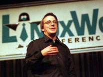 <p>Il programmatore finlandese Linus Torvalds, il creatore del sistema operativo Linux. REUTERS/Lou Dematteis</p>