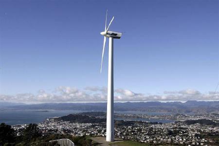 9月26日、ニュージーランドのカレン財務相は08年第4四半期に回復するとの見通しを示した。写真は2004年、ウェリントンで(2008年 ロイター/Anthony Phelps)