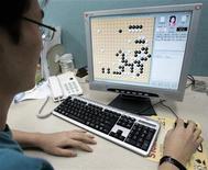 <p>Web, un codice di condotta europeo per gli operatori Internet. REUTERS/You Sung-Ho</p>
