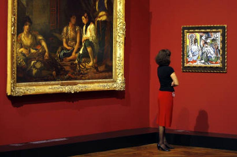 Picasso Meets His Masters In Vast Paris Show Reuters