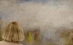 <p>Un dipinto del Canaletto ad una mostra REUTERS/Arnd Wiegmann</p>