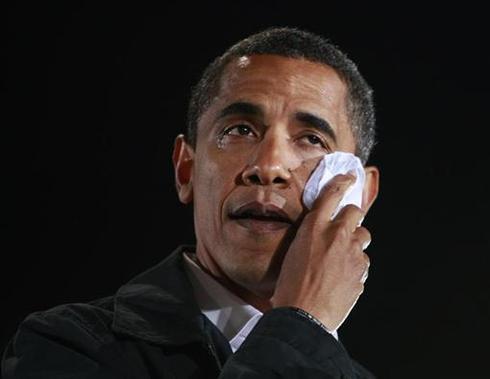 Obama mourns grandmother