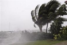 <p>L'uragano Paloma spazza le coste delle Isole Cayman. REUTERS/Jill Kitchener</p>