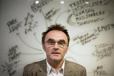 """<p>English director Danny Boyle poses for a portrait during a press day for his new film """"Slumdog Millionaire"""" in New York, October 24, 2008. REUTERS/Lucas Jackson</p>"""