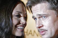 <p>Brad Pitt ao lado da mulher, Angelina Jolie REUTERS/Alessia Pierdomenico (BRITAIN)</p>