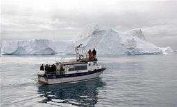 <p>Paesaggio della Groenlandia, in un'immagine d'archivio. REUTERS/Michael Kappeler/Pool</p>