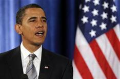 <p>Il presidente eletto Barack Obama REUTERS/Jeff Haynes</p>