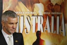 "<p>Director Baz Luhrmann arrives for the premiere of the film ""Australia"" in New York November 24, 2008. REUTERS/Lucas Jackson</p>"