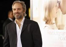 "<p>Director of the movie Sam Mendes poses at the premiere of the movie ""Revolutionary Road"" at the Mann Village theatre in Westwood, California December 15, 2008. REUTERS/Mario Anzuoni</p>"