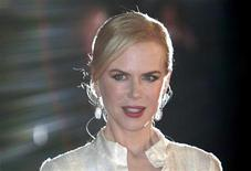 "<p>Nicole Kidman arrives for the British premiere of ""Australia"" at Leicester Square in central London December 10, 2008. REUTERS/Andrew Parsons</p>"