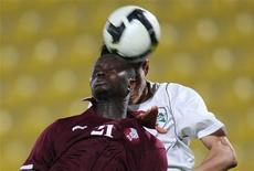 <p>O Catar está considerando se candidatar para sediar uma Copa do Mundo de futebol, disse uma autoridade na terça-feira. Caso escolhido, seria o primeiro estado árabe a sediar um Mundial. REUTERS/Fadi ALassaad</p>