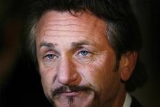 """<p>L'attore Sean Penn alla prima di """"Milk"""" a New York. REUTERS/Lucas Jackson</p>"""