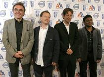 "<p>British director Danny Boyle (L), British writer Simon Beaufoy (2nd L), producer Christian Colson, and composer A.R. Rahman (R), who all worked on the movie ""Slumdog Millionare,"" arrive for the the BAFTA/LA 15th annual Awards Season Tea Party in Beverly Hills, California, January 10, 2009. REUTERS/Danny Moloshok</p>"