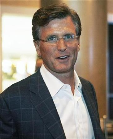 Fox entertainment president Kevin Reilly is shown during a break during the Fox network summer press tour in Beverly Hills July 14, 2008. REUTERS/Fred Prouser