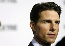"""<p>Tom Cruise arrives for the premiere of the film """"Valkyrie"""" in New York December 15, 2008. REUTERS/Lucas Jackson</p>"""