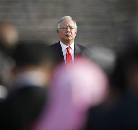 Malaysia's prime minister-in-waiting Najib Razak seen in Putrajaya, outside Kuala Lumpur in this December 1, 2008 file photo. REUTERS/Bazuki Muhammad
