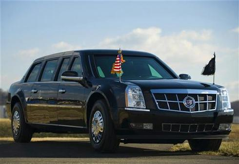 Obama's ride