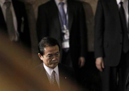1月28日、麻生太郎首相は就任後初の施政方針演説で、景気対策が急務と強調した。26日撮影(2009年 ロイター/Toru Hanai)