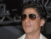 <p>Bollywood actor Shah Rukh Khan attends a news conference at a hotel in Mumbai, April 23, 2008. REUTERS/Manav Manglani</p>