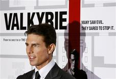"""<p>Tom Cruise na estréia do filme """"Valquíria"""" em Nova York REUTERS/Lucas Jackson (UNITED STATES) (Newscom TagID: rtrphotosthree831442) [Photo via Newscom]</p>"""