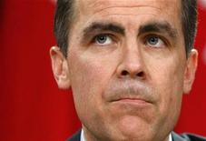 <p>Bank of Canada Governor Mark Carney listens to a question during a news conference upon the release of the Monetary Policy Report in Ottawa January 22, 2009. REUTERS/Chris Wattie</p>