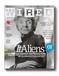 <p>La copertina dell'edizione italiana di Wired. REUTERS/HO</p>