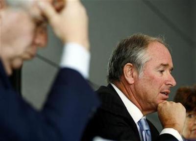 Blackstone CEO takes 99 percent pay cut
