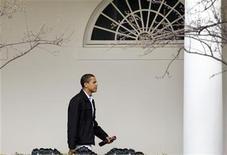 <p>Il presidente Usa Barack Obama. REUTERS/Larry Downing (UNITED STATES POLITICS)</p>