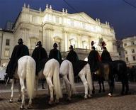 <p>Immagine del teatro La Scala di Milano. REUTERS/Alessandro Garofalo (ITALY)</p>