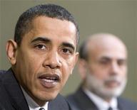 <p>Il presidente americano Barack Obama. REUTERS/Larry Downing</p>