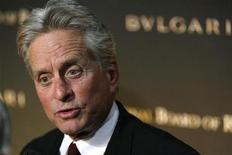 <p>Actor Michael Douglas arrives at the National Board Of Review of Motion Pictures awards gala in New York, January 15, 2008. REUTERS/Lucas Jackson</p>