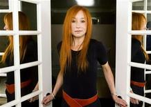 """<p>Musician Tori Amos poses for a portrait while promoting her new album """"Abnormally Attracted To Sin"""" in New York March 26, 2009. REUTERS/Lucas Jackson</p>"""