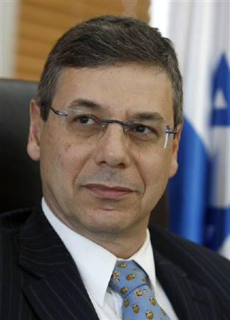 Israel's Deputy Foreign Minister Danny Ayalon sits in his office during an interview with Reuters in Jerusalem in this April 20, 2009 file photo. REUTERS/Ammar Awad