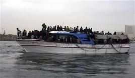 <p>Amnesty ha espresso preoccupazione per la politica italiana dei respingimenti. REUTERS/Handout (LIBYA DISASTER SOCIETY IMAGE OF THE DAY TOP PICTURE)</p>