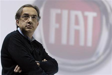 Fiat CEO Sergio Marchionne stands during a press conference in a file photo. REUTERS/Alessandro Garofalo