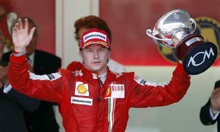 6月29日、F1の2007年総合覇者、キミ・ライコネンが、7月末のWRCのラリー・フィンランドに参戦へ。5月撮影(2009年 ロイター/Max Rossi)