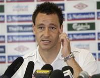 <p>Jogador da seleção inglesa John Terry. 09/06/2009. REUTERS/Darren Staples</p>