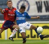 <p>Il calciatore colombiano Javier Florez (sinistra) e il calciatore messicano Tomas Campos (destra). HR/ME</p>