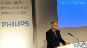 <p>Gerard Kleisterlee, presidente e amministratore delegato di Philips. La foto è stata scattata ad Amsterdam lo scorso 26 gennaio. REUTERS/Toussaint Kluiters/United Photos</p>