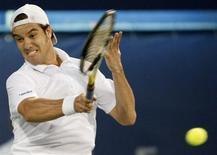 <p>Francês Richard Gasquet, em foto de arquivo, foi liverado a voltar ao circuito de tênis após testar positivo em exame de doping. REUTERS/Nikhil Monteiro</p>