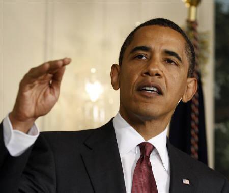 8月2日、UCLAの改訂版俗語辞典で「オバマ」は形容詞として掲載されることが明らかに。写真は先月、ホワイトハウスでのオバマ米大統領(2009年 ロイター/Jason Reed)