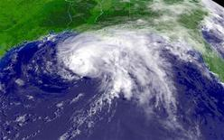 <p>Immagine al satellite della tempesta tropicale Claudette. REUTERS/NOAA/Handout HK</p>